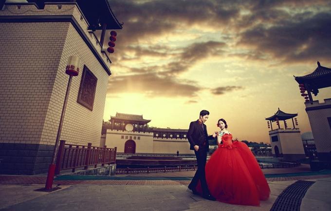 巴黎盛典3888元婚纱摄影