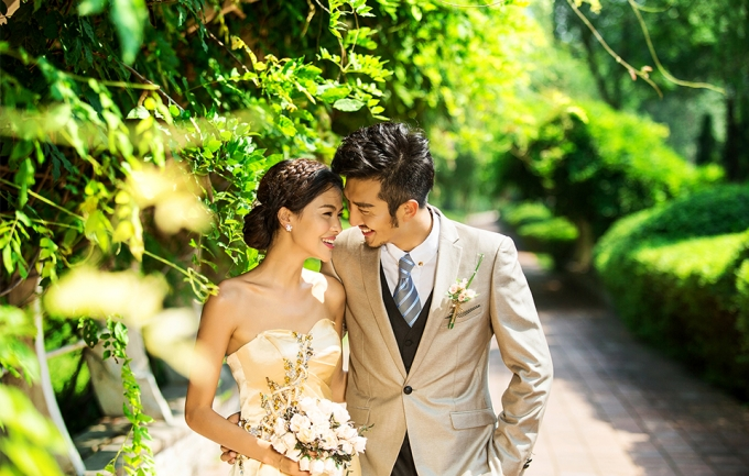兰卡薇4888元婚纱照