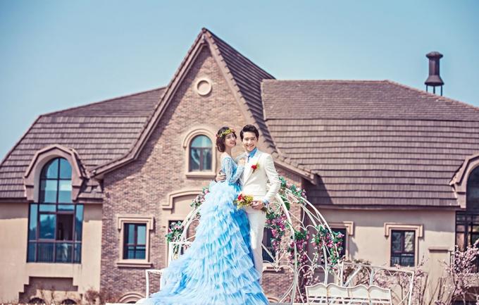 左岸5899元婚纱摄影