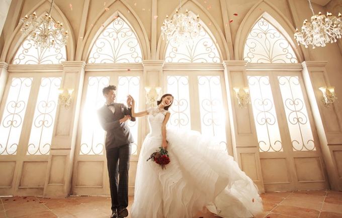 洛丽塔4099元婚纱照