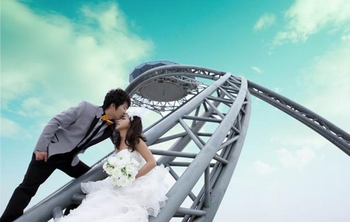 格兰3299元婚纱摄影