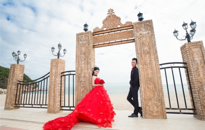 米苏摄影4999元婚纱照