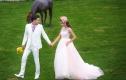 好莱坞国际3899元旅拍式海景婚纱照
