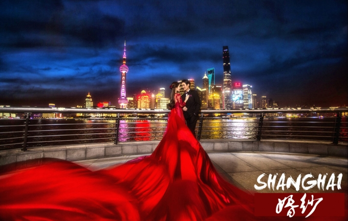 巴黎巴黎5888元上海旅拍婚纱摄影