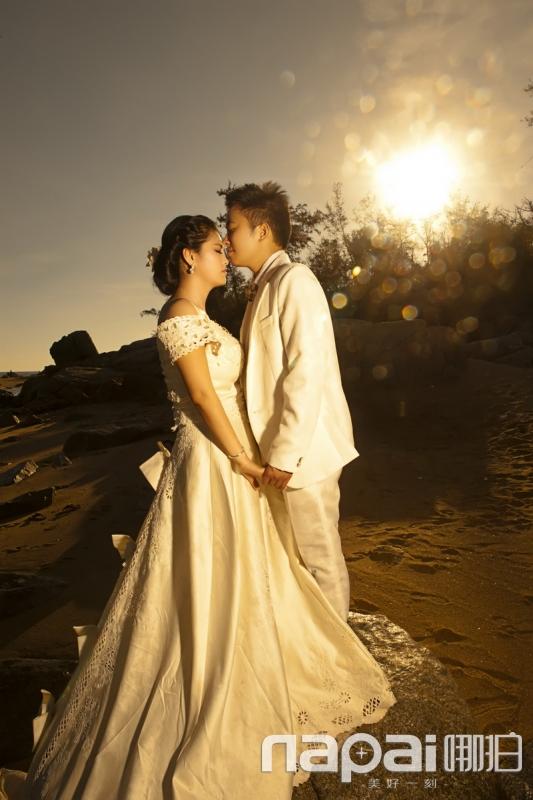 三亚依依视觉婚纱摄影客户的样片 三亚依依视觉婚纱摄影样片 哪拍晒图片